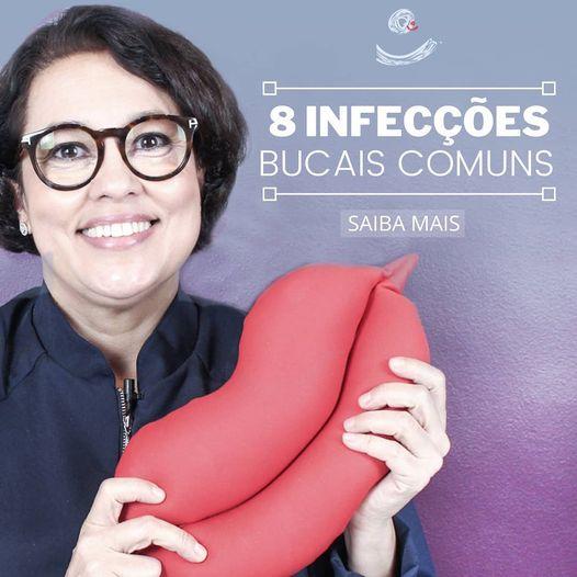 8 infecções bucais comuns